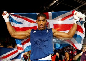 Anthony Joshua Getty