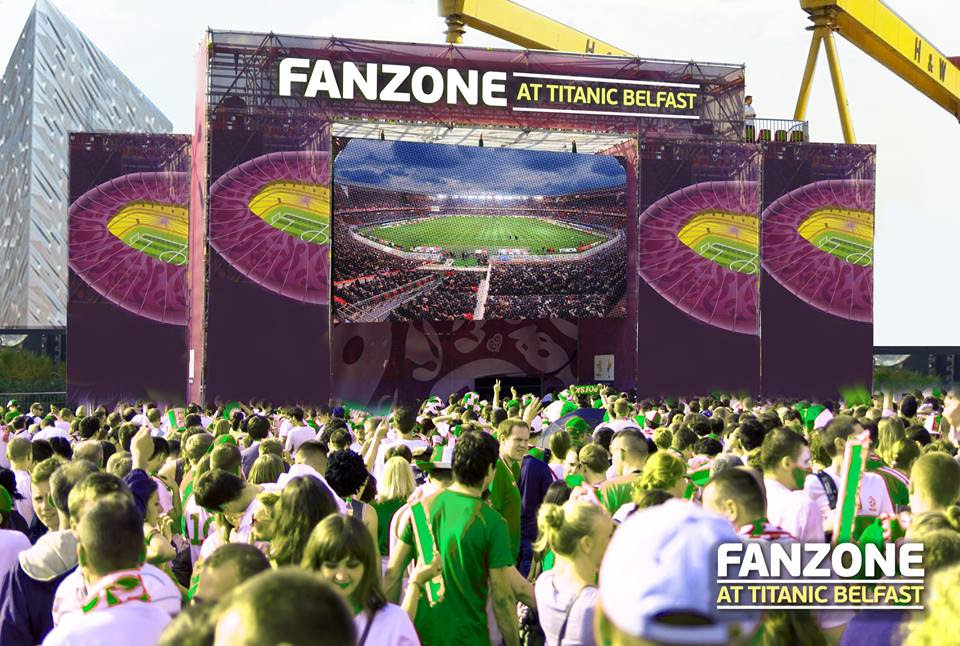 euro 2016 titanic fanzone northern ireland